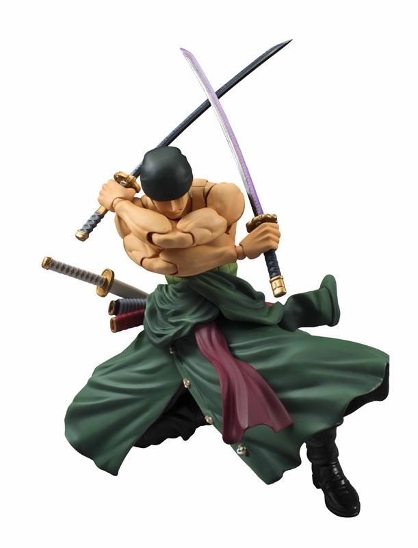 Roronoa Zoro Variable Action Heroes di MegaHouse ristampa Itakon.it -0004
