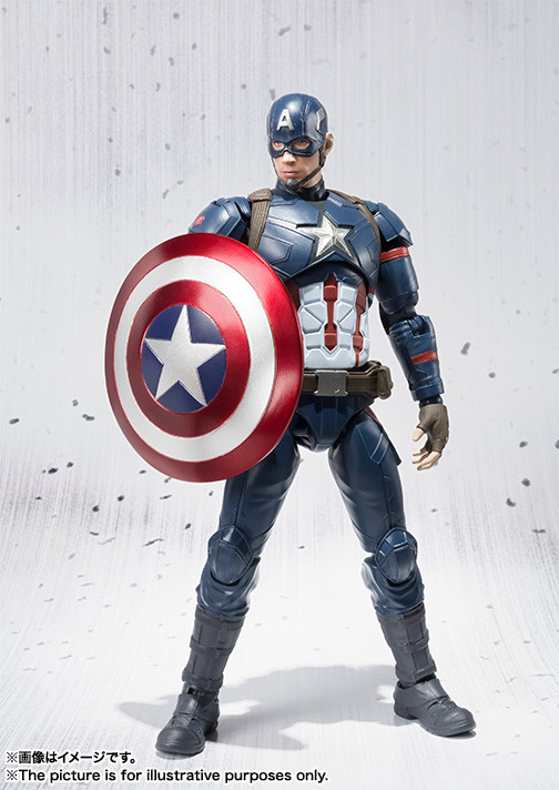 Captain America: Civil War SH Figuarts