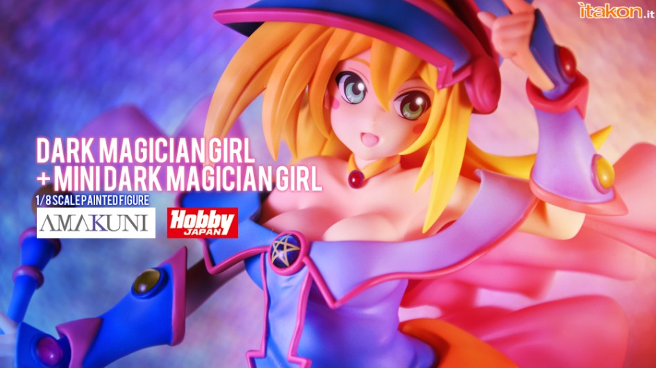 Dark Magician Girl - Amakumi x Hobby Japan - Recensione - Foto 96