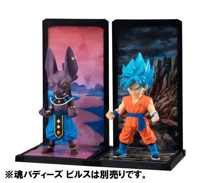 Goku Super Saiyan God SS Tamashii Buddies Dragon Ball Super Bandai pre 04