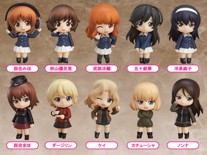 Nendoroid Petit Girls und Panzer Good Smile Company rerelease 01