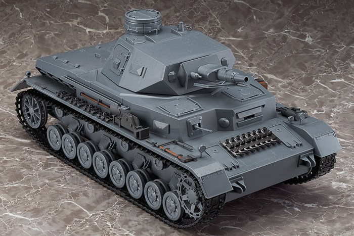 figma Veichles Panzer IV Ausf D Tank Equipment Set Brown 03