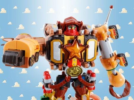 Chogattai Woody Robot Sheriff Star
