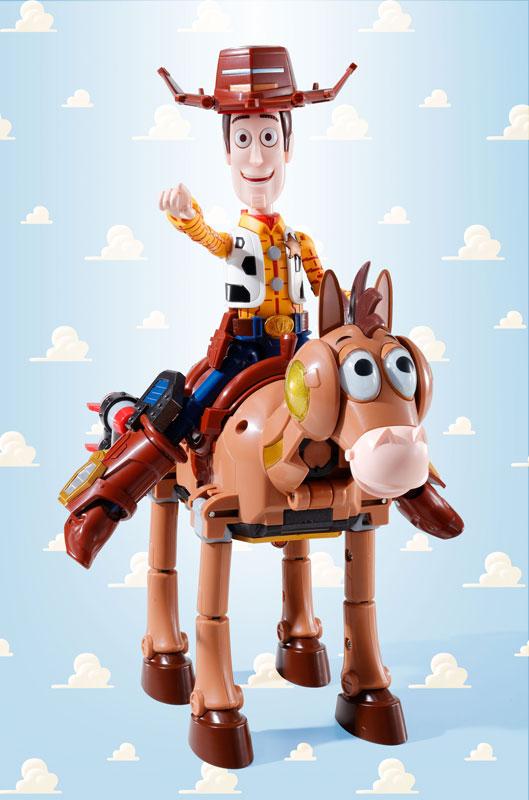 Chogattai Woody Robot Sheriff Star9