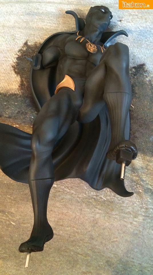 Marvel Comics Black Panther Fine Art Statue - Kotobukiya - Recensione Bossborot - Foto 15