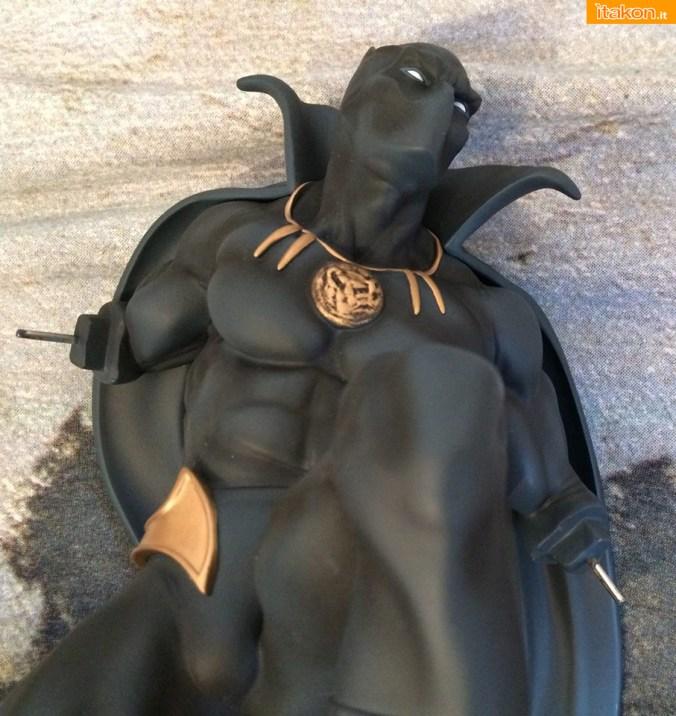 Marvel Comics Black Panther Fine Art Statue - Kotobukiya - Recensione Bossborot - Foto 16