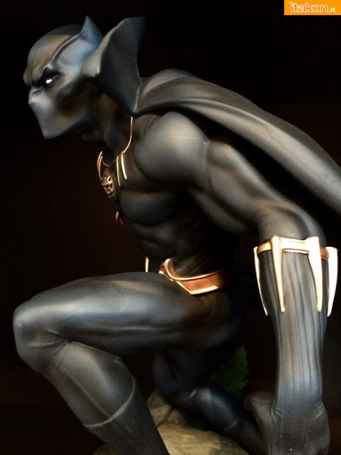 Marvel Comics Black Panther Fine Art Statue - Kotobukiya - Recensione Bossborot - Foto 23
