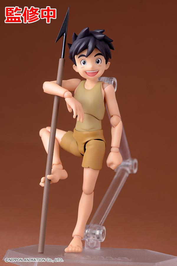 Conan il ragazzo del futuro, prototipo colorato