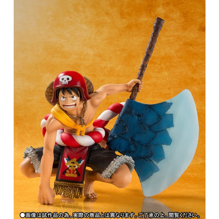 One Piece Gold Monkey D Luffy Figuarts ZERO bandai pics 05