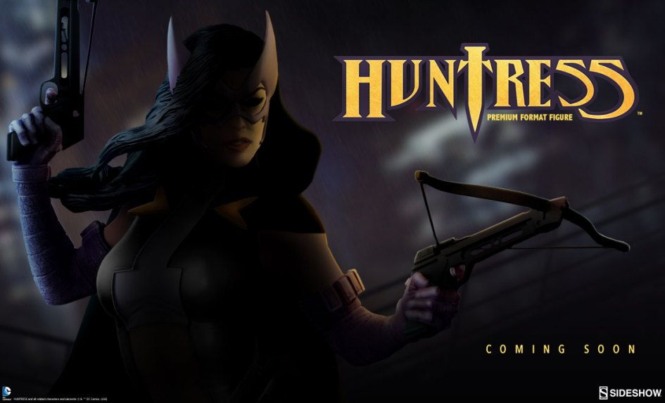 Sideshow-Huntress-Statue-Teaser