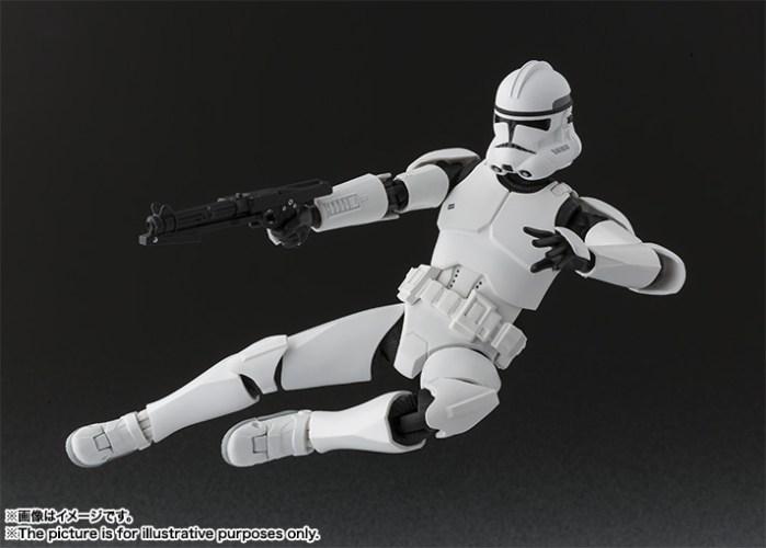 Star Wars Clone Trooper SH Figuarts Bandai pics 05