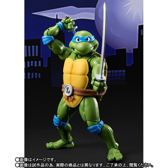 Leonardo SH Figuarts da ''Teenage Mutant Ninja Turtles''