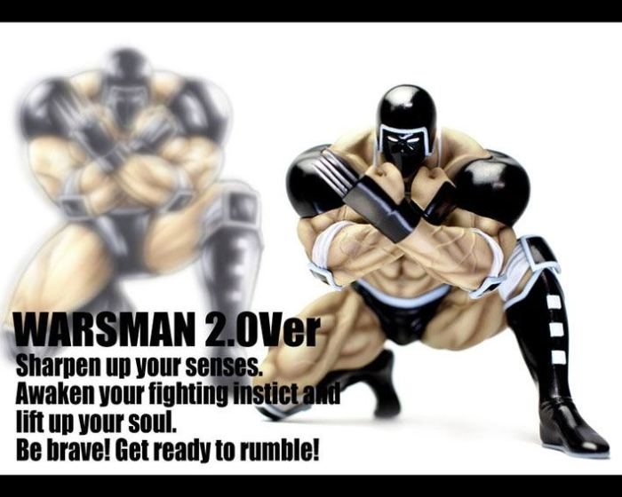 CCP Muscular Collection vol.EX Warsman 2.0 Advent Ver 02
