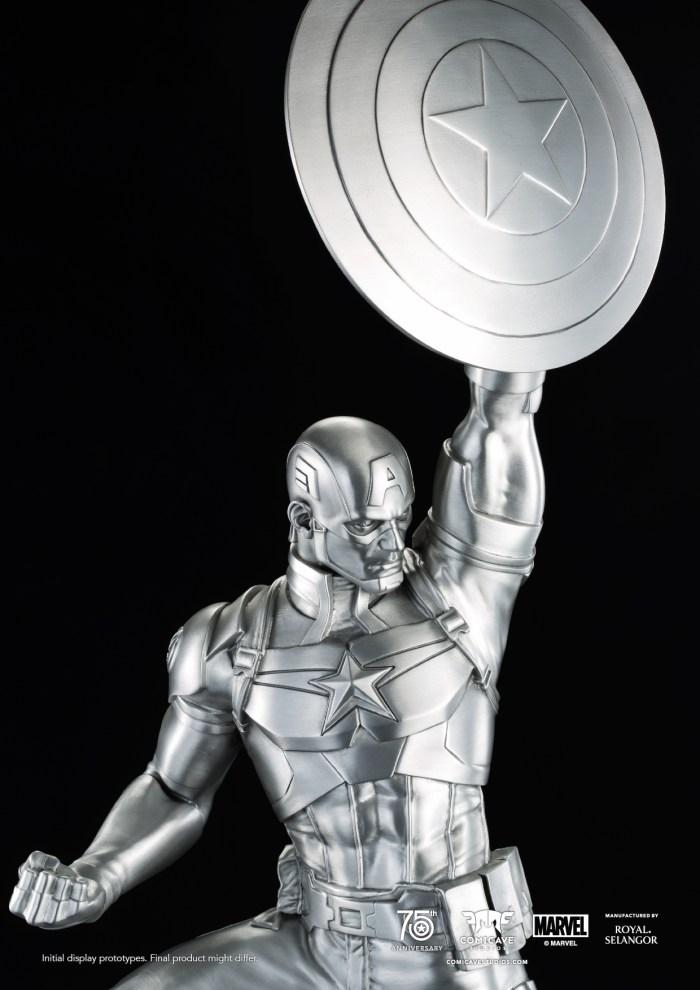 Captain-America-Tribute-Statue-Pewter-Replica-2