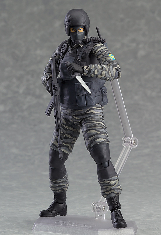figma Gurlukovich Soldier da ''Metal Gear Solid''