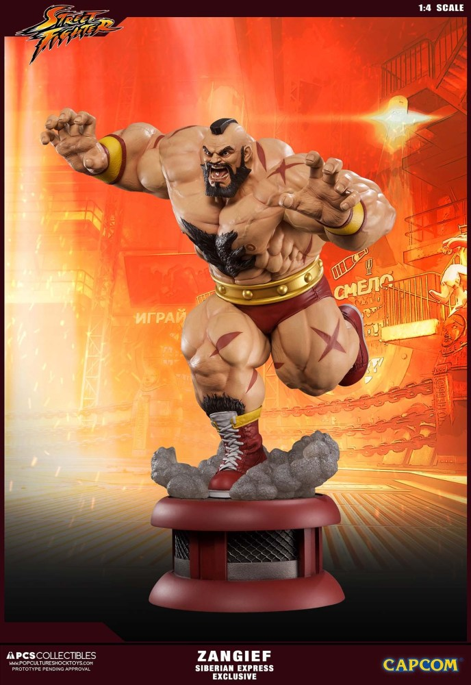 Zangief Street Fighter PCS 3 06