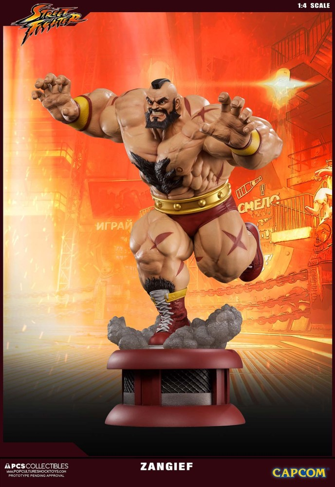 Zangief Street Fighter PCS 3 12