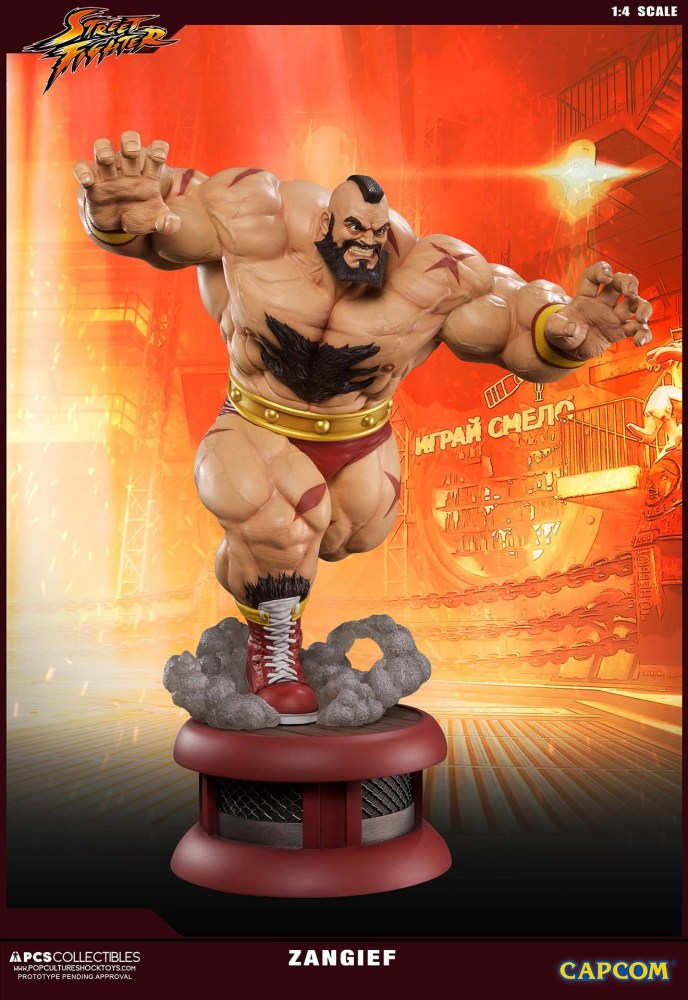 Zangief Street Fighter PCS 3 13