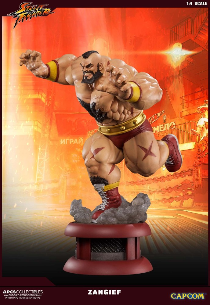 Zangief Street Fighter PCS 3 16