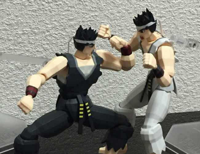 figma FREEing Virtua Fighter released 20