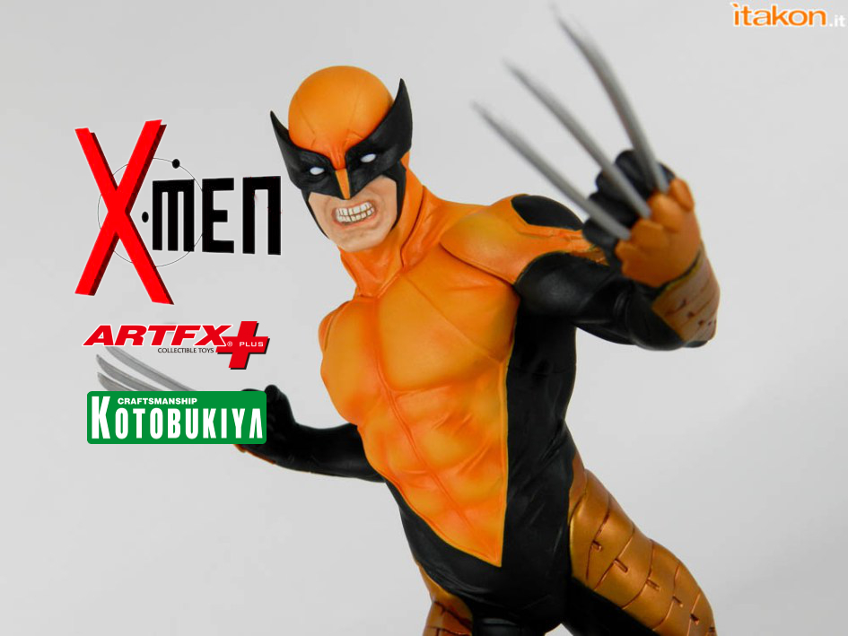 X-Men: Wolverine ARTFX+ Marvel NOW! di Kotobukiya – Recensione