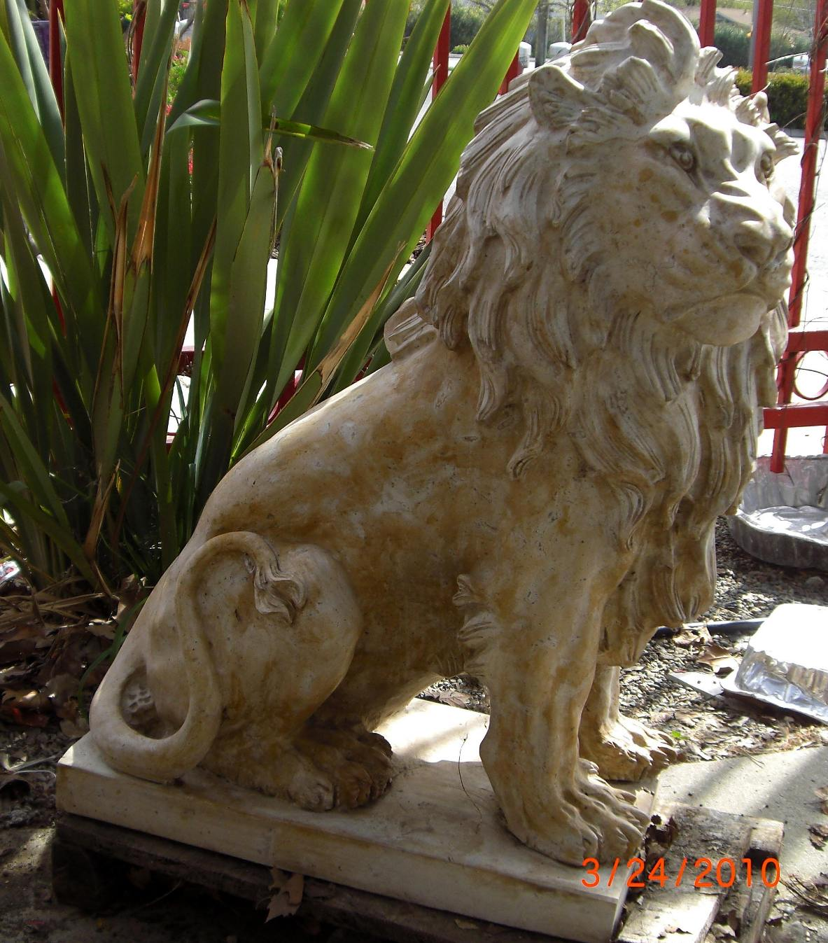Wholesale Company In Us Marble Lion Statues Horse Marble Statuary Carved