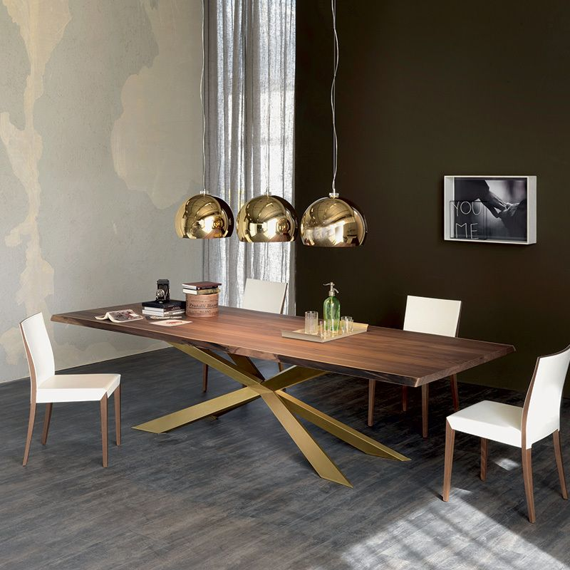 Tisch Modern Design Spyder Wood Table. Dining Tables. Dining : Cattelan Italia