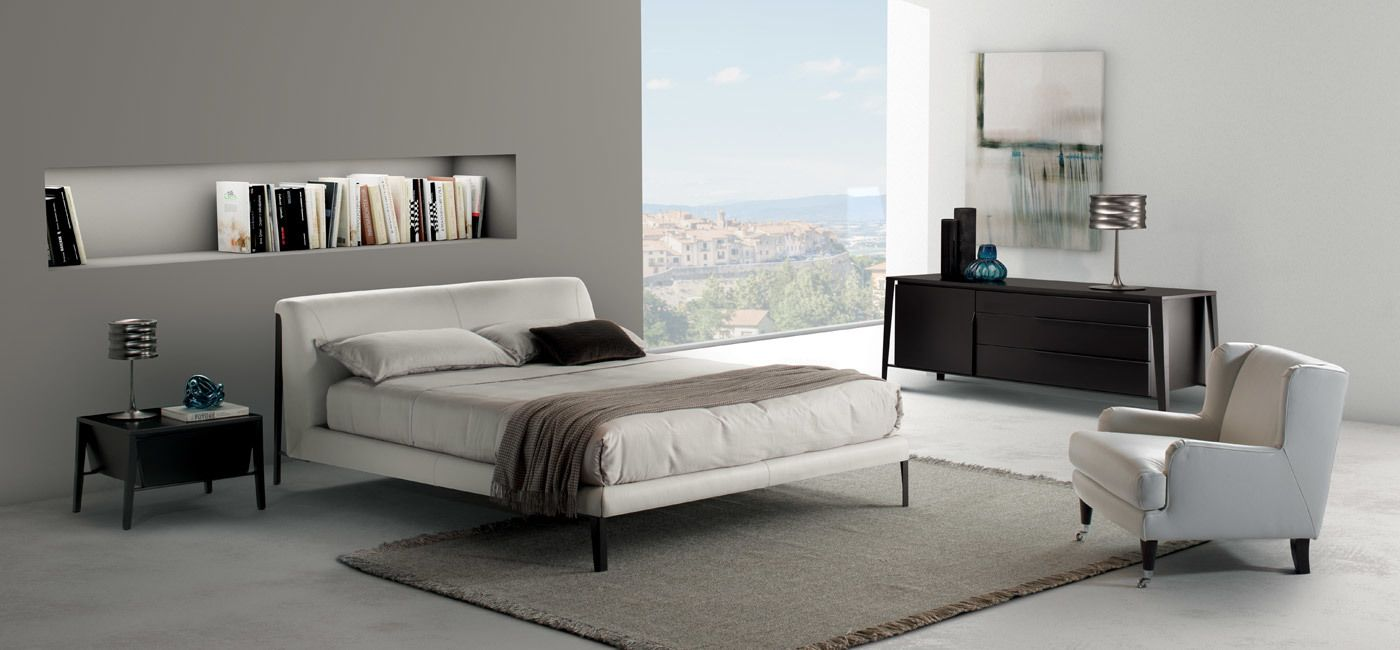 Sofa Grau Modern Diamante Bed. Beds. Bedroom : Natuzzi Italia. Modern