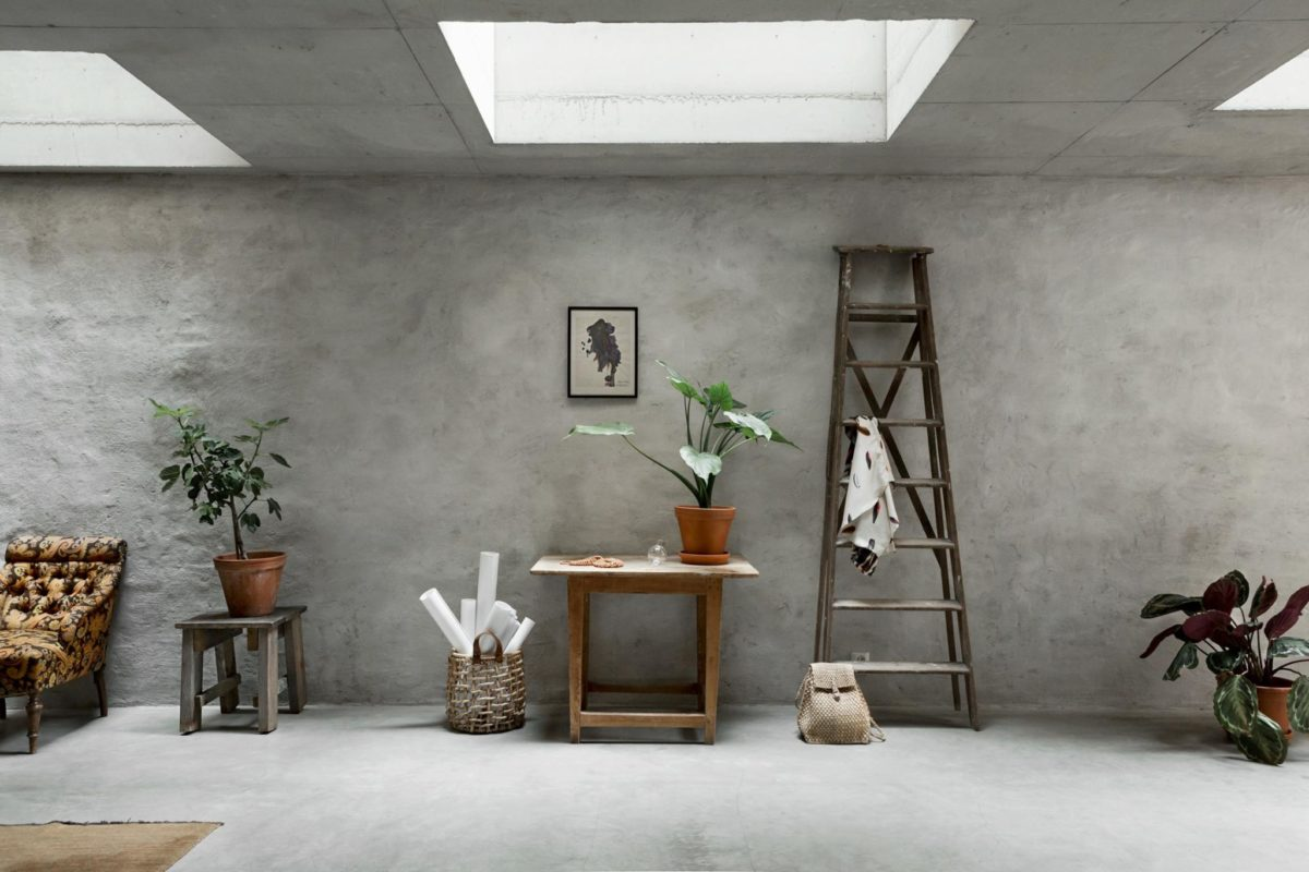 Concrete House Interior Concrete Walls Interior Trend In A Scandinavian Home Tour