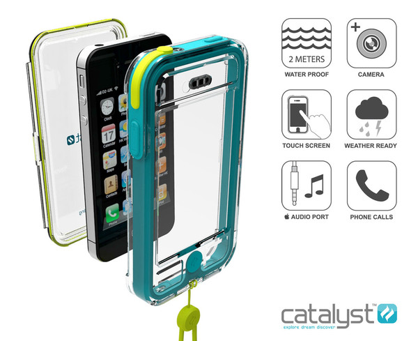 scatta sott'acqua con escapecapsule per iphone