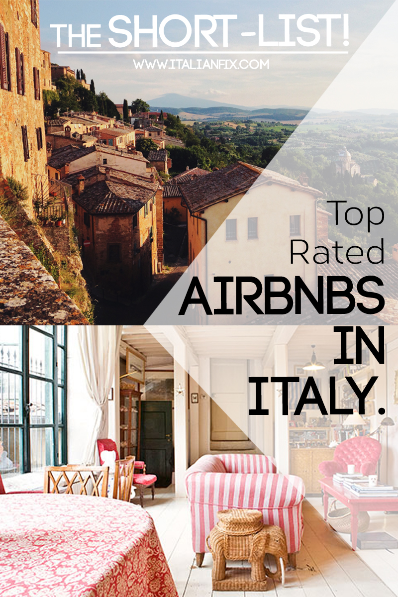 Airbnb Mailand Best Airbnbs In Italy The Fab 4 Italian Fix