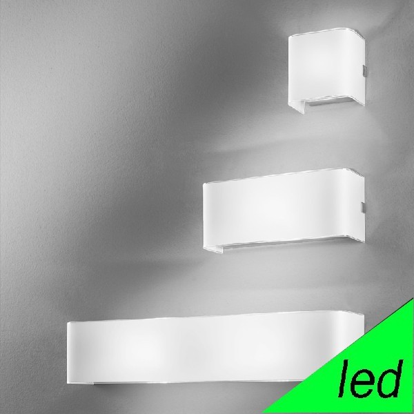 Applique A Led Applique Da Parete Led Design Moderno | Linear White Antea