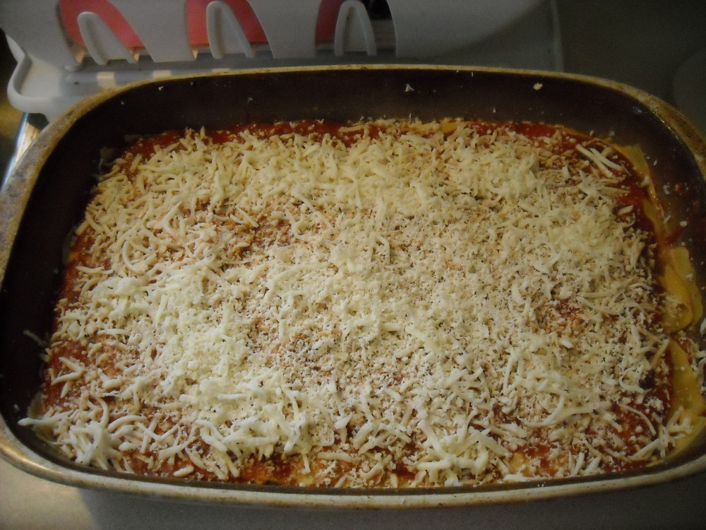 Homemade lasagna (2/3)