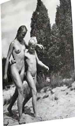nude youth camp group shower