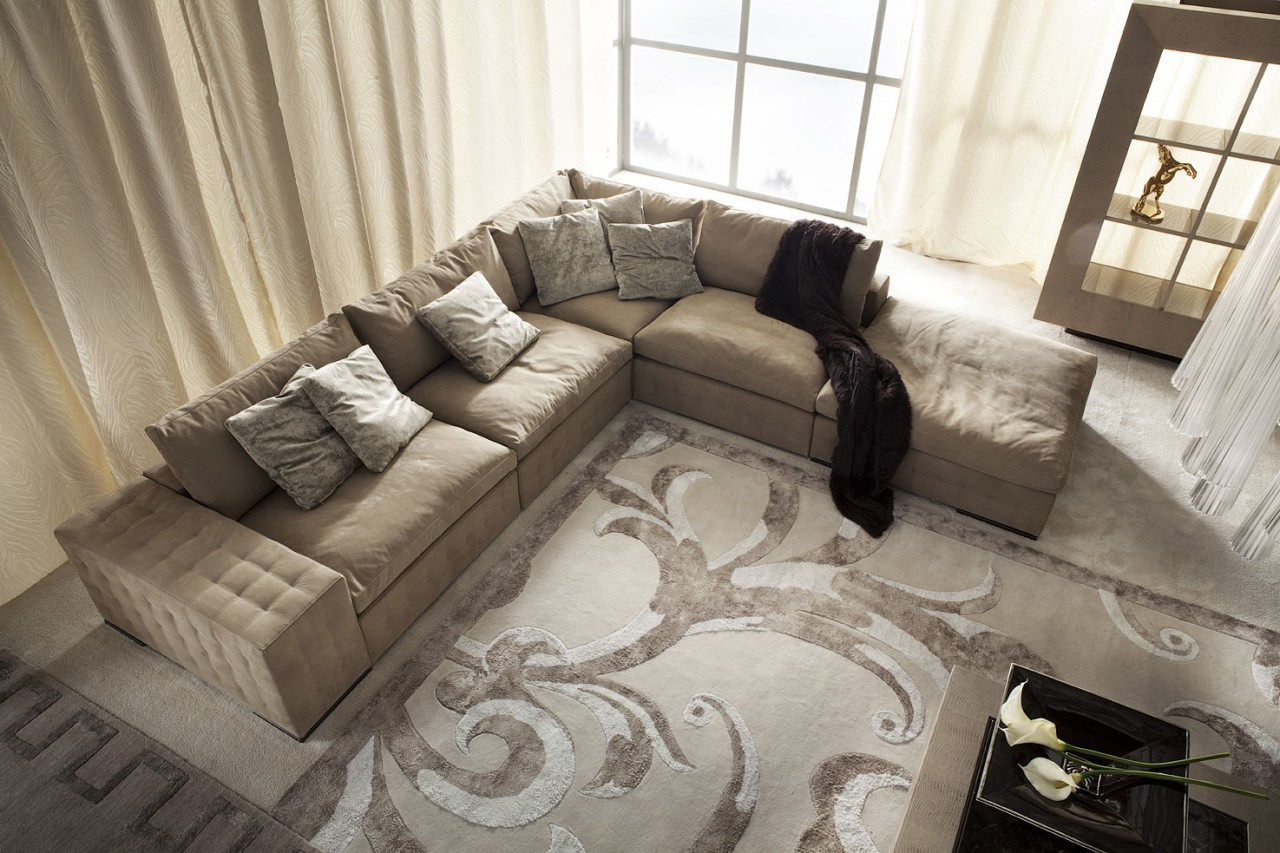 Los Sofas Modern Sectional Sofa Couch Living Room Italian Furniture Los