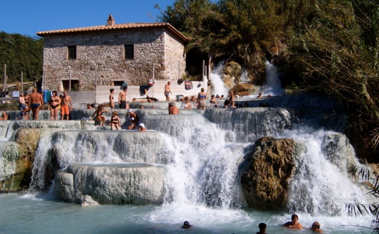 Bagno Vignoni Tuscany Territory Italy By Events