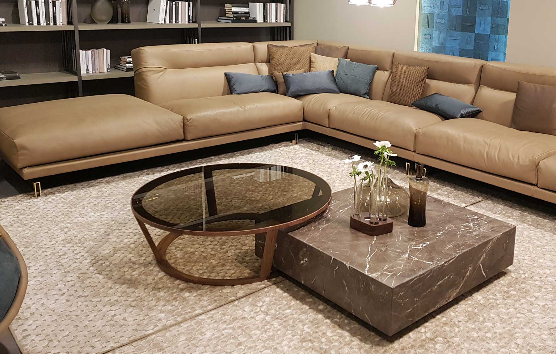 Table Noyer Design Niky Round Coffee Table 10031