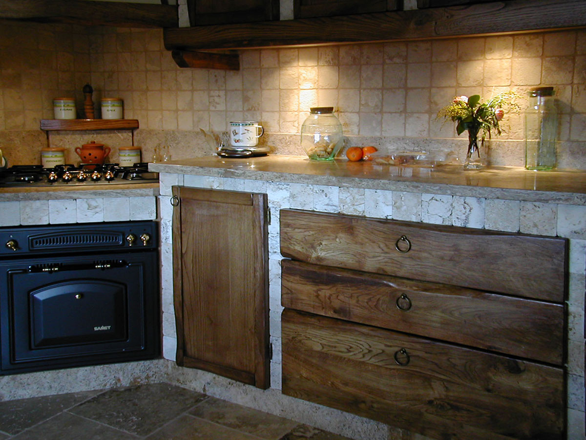 Top Cucina Travertino Luso Del Marmo In Cucina Italystonemarble