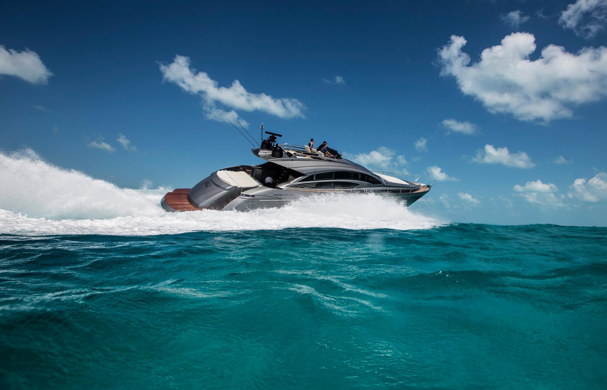 new pershing 70 launching at cannes boat show
