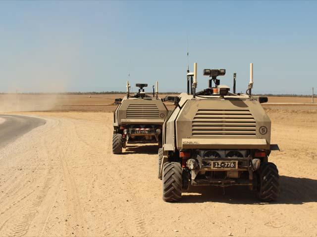 Guardium - «беспилотный» патрульный автомобиль
