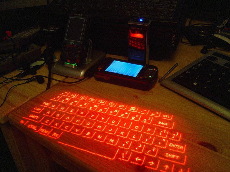 Lumio – виртуальная клавиатура