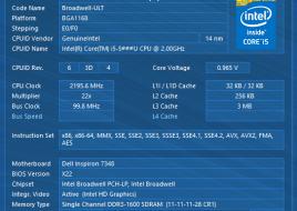 Dell Inspiron 13-7348 CPU1
