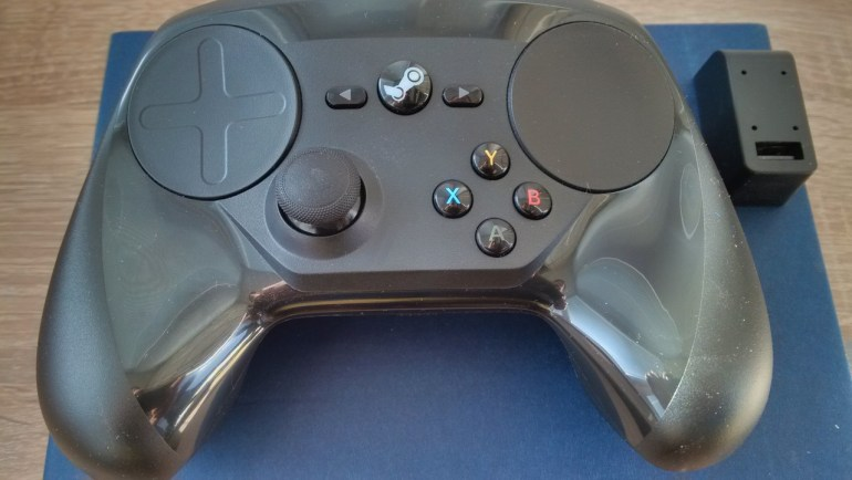 Steam Controller и адаптер