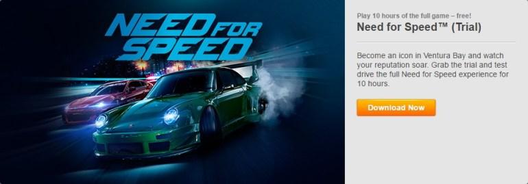 Need For Speed 2015 бесплатно