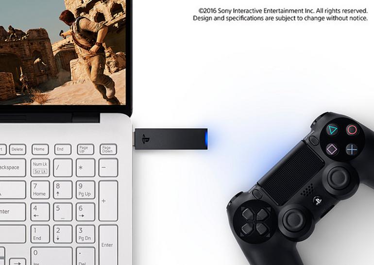 PS Now приходит наРС, беспроводной USB адаптер для Dualshock 4