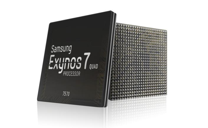 Самсунг запустила производство чипов Exynos 7570
