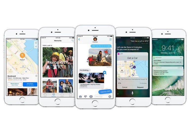 Вышли ОС iOS 10 watchOS 3 и tvOS 10