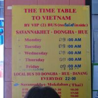 Crossing the Laos-Vietnam Border: The Bus From Savannakhet to Hue