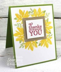 Easy Handmade Thank You Cards | I Teach Stamping