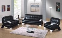 black-leather-sofa-furniture-for-living-room  Home Inspiring